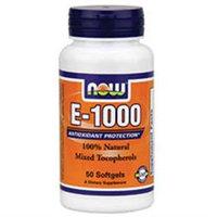 NOW Foods - Vitamin E 1000 IU - 100 Softgels