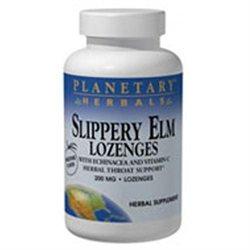 Planetary Herbals Slippery Elm Lozenges - Strawberry