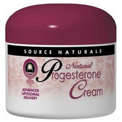 Source Naturals Natural Progesterone Cream - 2 oz Jar