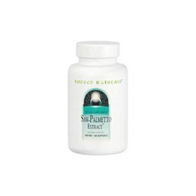 Source Naturals Saw Palmetto Extract - 160 mg - 30 Softgels