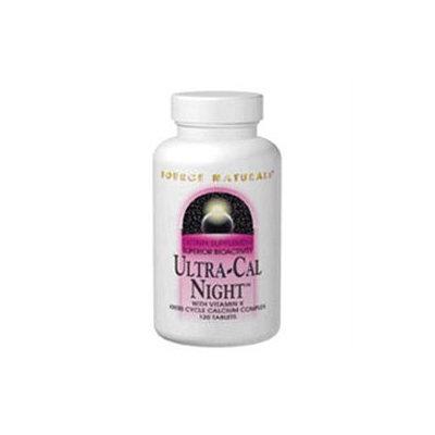 Source Naturals Ultra-Cal Night Calcium Complex - 120 Tablets
