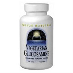 Source Naturals Vegetarian Glucosamine - 750 mg - 60 Tablets