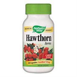 tures Way Nature's Way - Hawthorn Berries 510 mg. - 180 Vegetarian Capsules