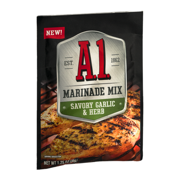 A.1. Marinade Mix Savory Garlic & Herb