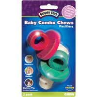 Super Pet Baby Pacifier Combo Chews, 2-Pack