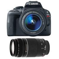 Canon EOS Rebel SL1 Digital SLR Camera & EF-S 18-55mm IS STM Lens with Canon EF 75-300mm f/4-5.6 III Zoom Lens