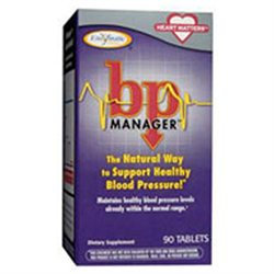 Enzymatic Therapy BP Manager, Tablets, 90 ea