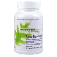 FoodScience of Vermont Alpha Lipoic Acid 100 mg Capsules
