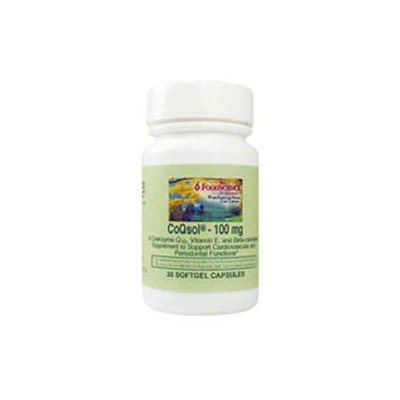 Frontier CoQsol Coenzyme-Q10 100mg 30 Caps, FoodScience Of Vermont