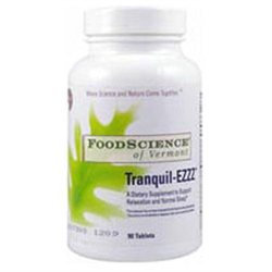 FoodScience of Vermont Tranquil-EZZZ Dietary Supplement Tablets