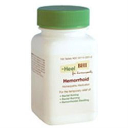 Frontier Heel BHI Hemorrhoid Homeopathic Medication - 100 Tablets