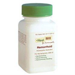 Frontier Heel BHI Hemorrhoid Homeopathic Medication - 100 Tablets