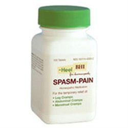 Frontier Heel BHI Spasm-Pain Homeopathic Medication - 100 Tablets