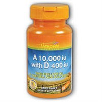 Vitamin A & D from Fish Liver Oil 30 softgels, Thompson Nutritional Products