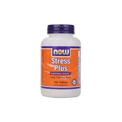 NOW Foods - Stress Plus Vegetarian Formula - 100 Tablets