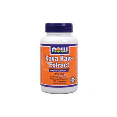 NOW Foods Kava Kava Stress Support 250mg, Capsules, 120 ea