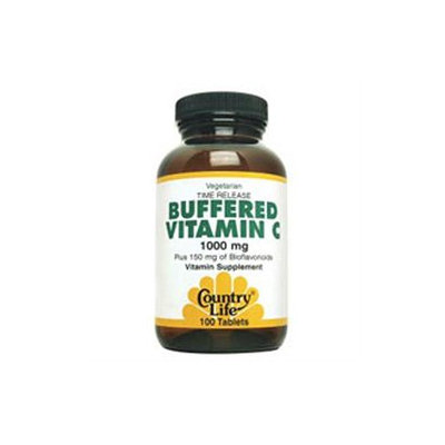 Country Life Buffered Vitamin C - 1000 mg - 50 Tablets