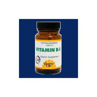 Country Life Vitamins Country Life Vitamin B1 - 100 mg - 100 Tablets
