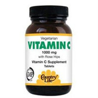 Country Life Vitamins Country Life - Vitamin C with Rosehips 1000 mg. - 100 Tablets