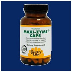 Maxi-zyme Extra Strength 60 Vcap By Country Life Vitamins (1 Each)