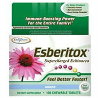 Enzymatic Therapy - Esberitox Supercharged Echinacea - 100 Chewable Tablets