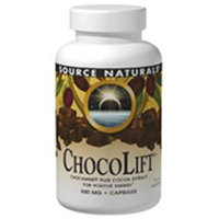 Source Naturals ChocoLift - 500 mg - 60 Capsules
