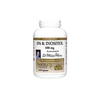 InoCell IP6 & Inositol 500mg 240 Capsules, Natural Factors