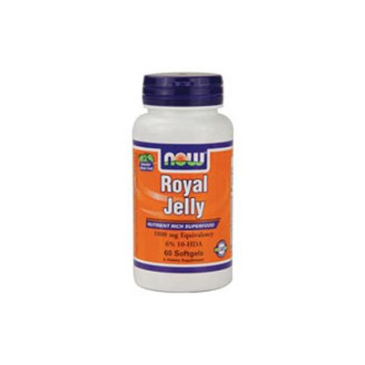 NOW Foods - Royal Jelly 1000 mg. - 60 Softgels