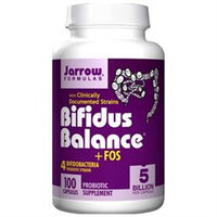 Jarrow Formulas - Bifidus Balance FOS - 100 Vegetarian Capsules