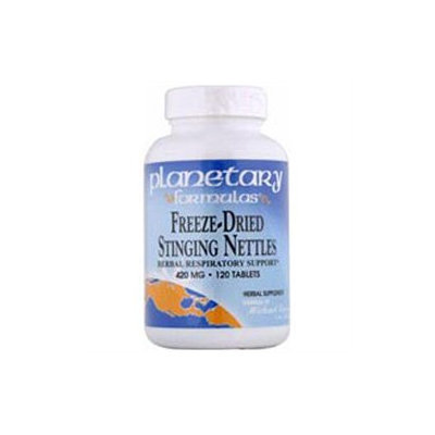 Planetary Formulations Freeze-Dried Stinging Nettles 420 MG - 120 Tablets - Prostate Support