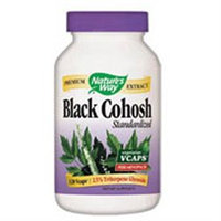 tures Way Nature's Way - Black Cohosh Standardized Extract - 120 Vegetarian Capsules