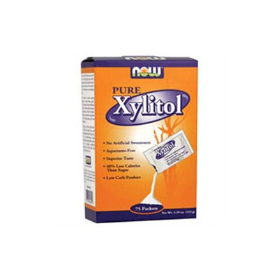 NOW Foods - Pure Xylitol Packets - 75 Packets
