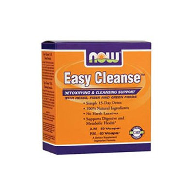 NOW Foods Easy Cleanse AM/PM Kit