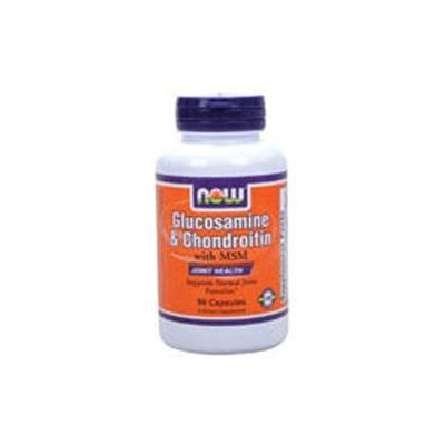NOW Foods Glucosamine & Chondroitin with MSM, Capsules, 90 ea