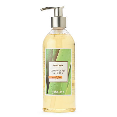 SONOMA Goods for Life™ Be Lemongrass & Herbs Hand Soap, Lemongrass & Herbs