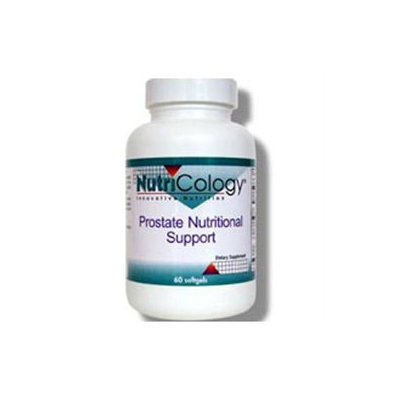 Allergy Research nutricology Prostate Nutritional Support 60 softgels from NutriCology