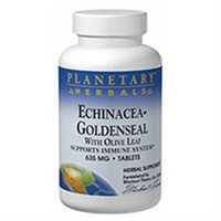 Planetary Formulations Echin-Golden W/Olive Leaf - 30 Tablets - Other Herbs