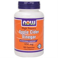 NOW Foods Apple Cider Vinegar 450 mg Caps