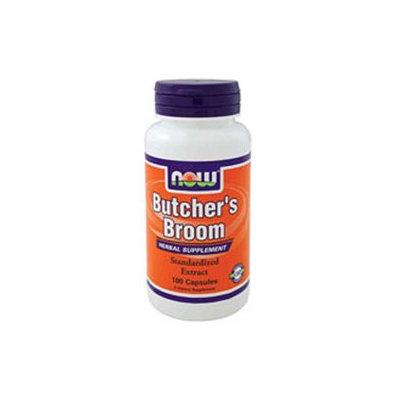 NOW Foods - Butcher's Broom 500 mg. - 100 Capsules