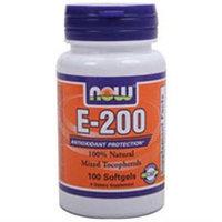 NOW Foods - Vitamin E- Mixed Tocopherols/Unesterified 200 IU - 100 Softgels