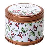 Sparkling Wine 5-oz. Soy Candle Tin, Multi/None