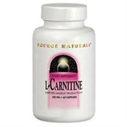 Source Naturals L-Carnitine - 250 mg - 60 Capsules