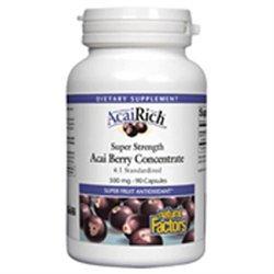Natural Factors AcaiRich Acai Berry Concentrate 500 mg Caps