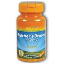 Butcher's Broom 440mg 60 caps, Thompson Nutritional Products