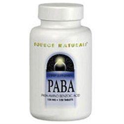 Source Naturals - PABA 100 mg. - 100 Tablets