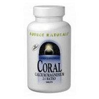 Source Naturals Coral Calcium + Magnesium 2:1 Ratio Tabs