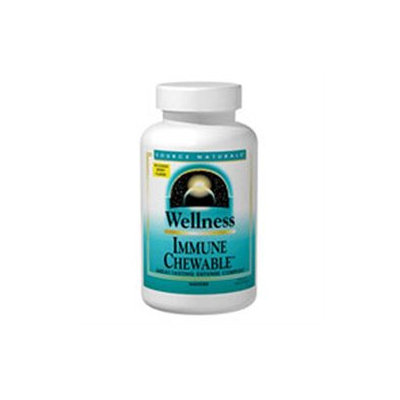 Source Naturals Wellness Immune Chewable Berry - 30 Chewable Wafers