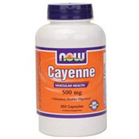 NOW Foods Cayenne 500 mg Caps