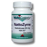 Allergy Research nutricology NattoZyme (Nattokinase) 90 Caps by Nutricology/ Allergy Research Group