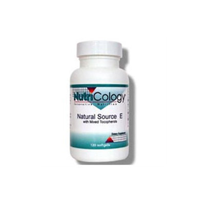 Allergy Research nutricology Natural Source E 120 Softgels by Nutricology/ Allergy Research Group